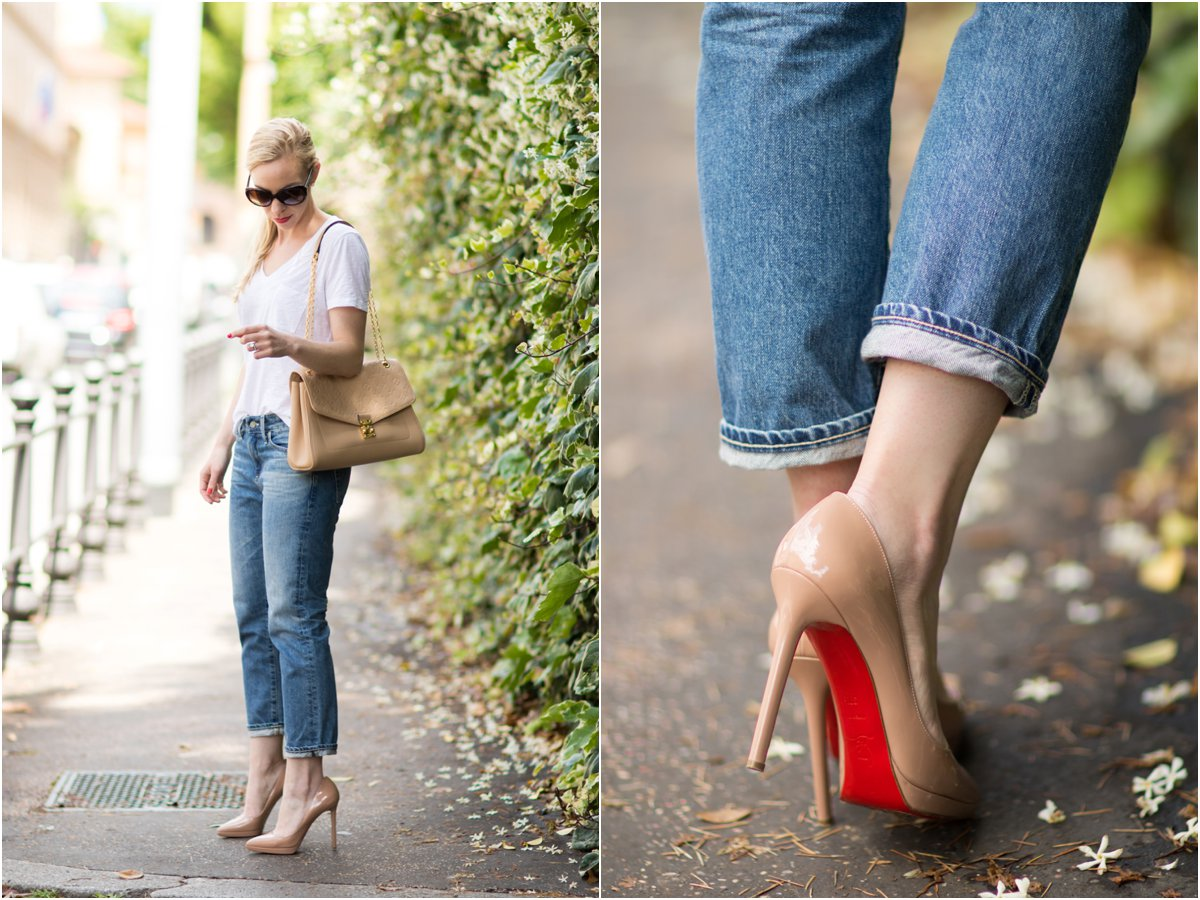 christian louboutin denim pigalle