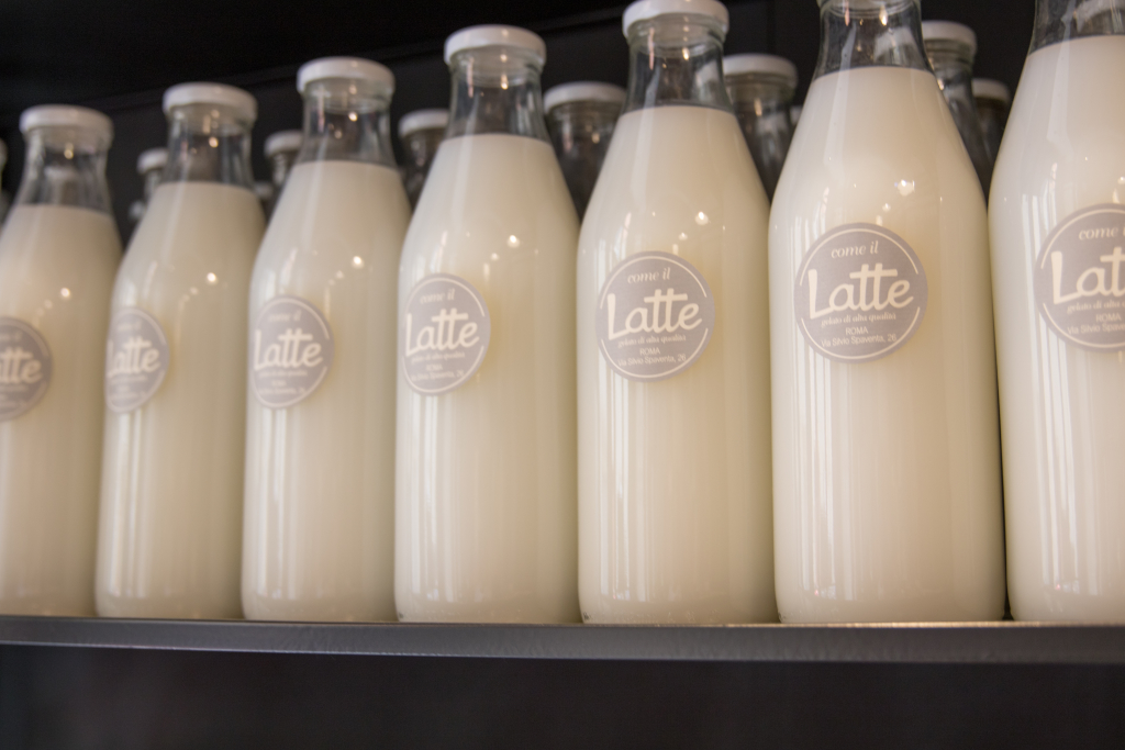 Come Il Latte Gelateria Rome Italy
