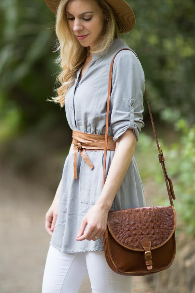 How To Wear A Dress As A Shirt Meagan S Moda