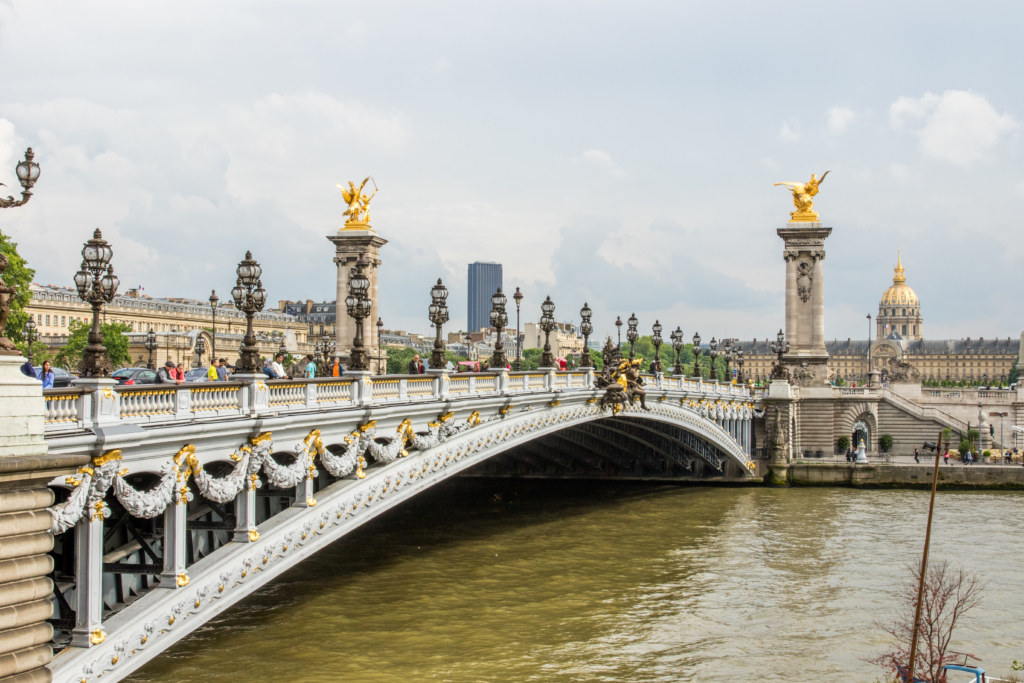Ponte Alexandre III bridge Paris France, best places for photos in Paris, travel blogger