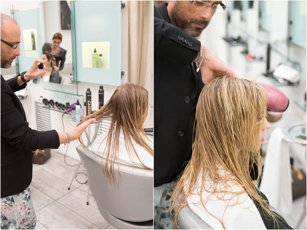 Redken Beach Envy volume for beachy waves, hair styling event Accademia L'Oreal Rome Italy