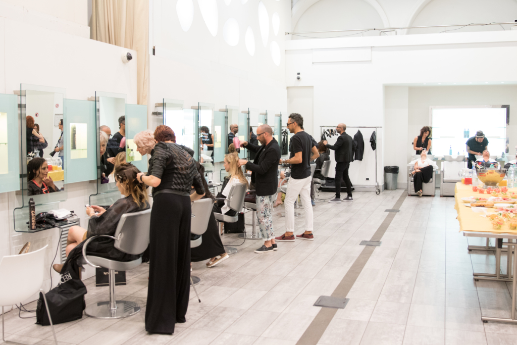 Redken event at Accademia L'Oreal Rome Italy July 4, 2016