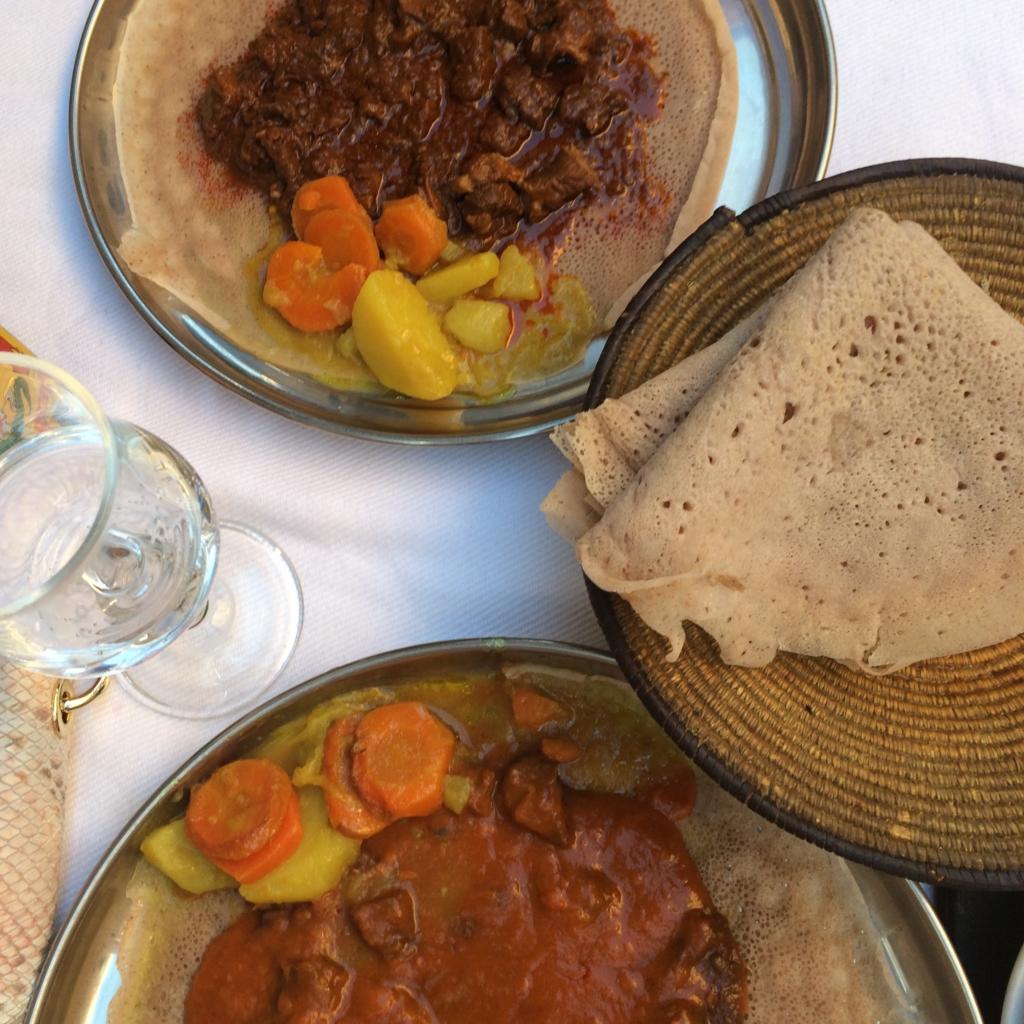 Ristorante Asmara Rome Italy, Ethiopian food