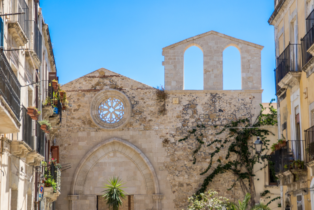 Siracusa Sicily, old town of Syracuse