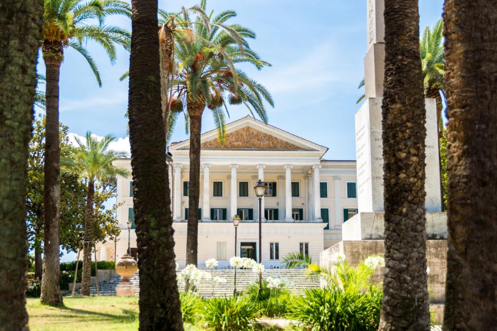 Villa Torlonia Rome Italy, best parks in Rome Italy, travel blogger Rome