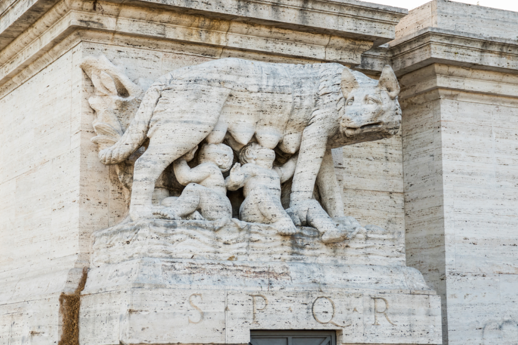 Romulus and Remus myth, things to see in Rome, Roman legend, travel blogger Rome