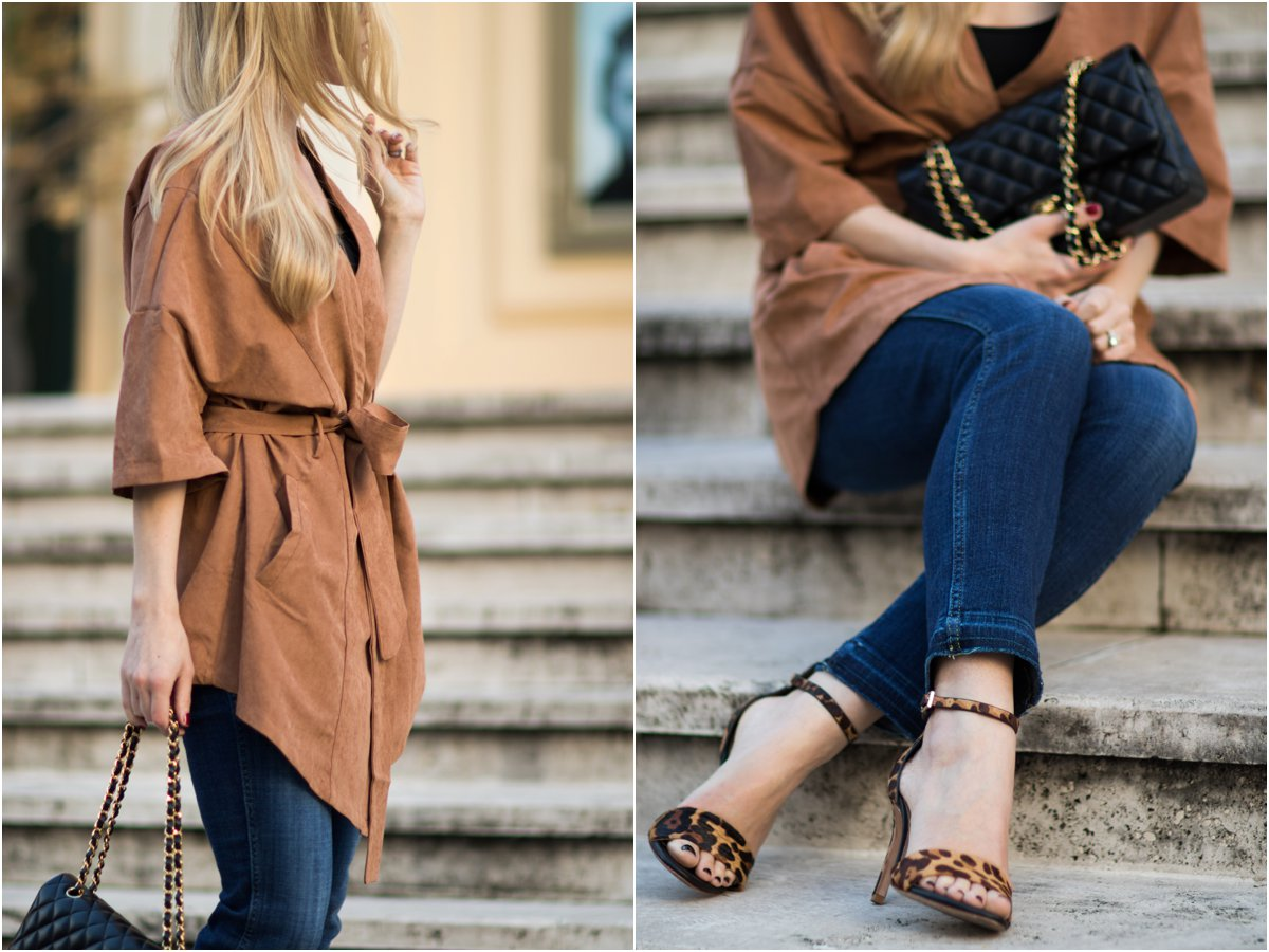 faux-suede-kimono-7-for-all-mankind-released-hem-straight-leg-crop-jeans-joie-leopard-print-sandals-fall-outfit-with-suede-jacket