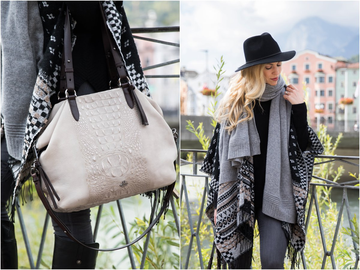 brahmin-delaney-tote-smoke-wilmington-gray-cashmere-scarf-fair-isle-print-poncho-outfit