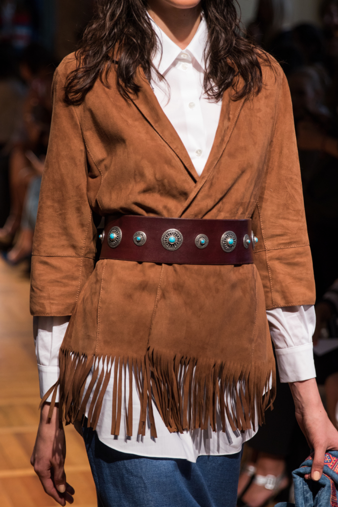 simonetta-ravizza-suede-fringe-trim-jacket-with-turquoise-belt-milan-fashion-week-ss17-runway