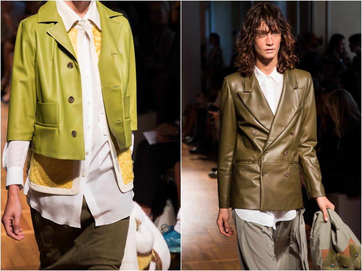 simonetta-ravizza-milan-fashion-week-ss17-show-green-leather-jackets-70s-inspired-colors-and-styles-for-spring