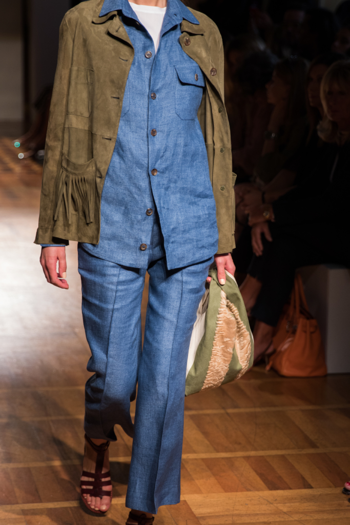 simonetta-ravizza-ss17-runway-milan-fashion-week-denim-suit-with-fringe-jacket-70s-inspired-trends-for-spring-2017