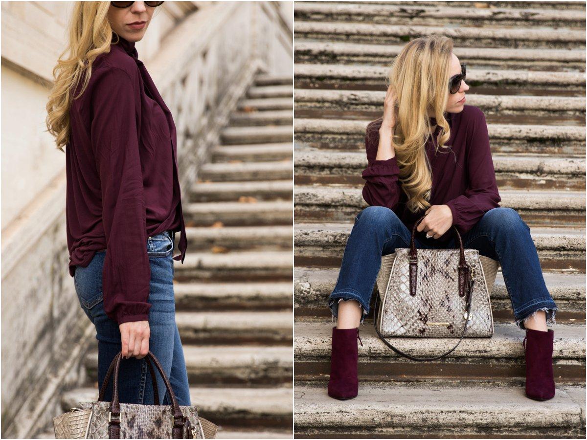 burgundy-top-with-crop-flare-jeans-brahmin-priscilla-satchel-stone-carlisle-stuart-weitzman-hitimes-bordeaux-suede-booties