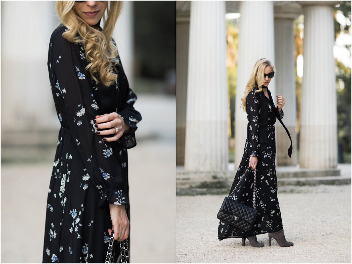 floral-maxi-dress-with-tall-suede-boots-fall-outfit-how-to-wear-boots-with-a-maxi-dress-long-sleeve-fall-maxi-dress-outfit