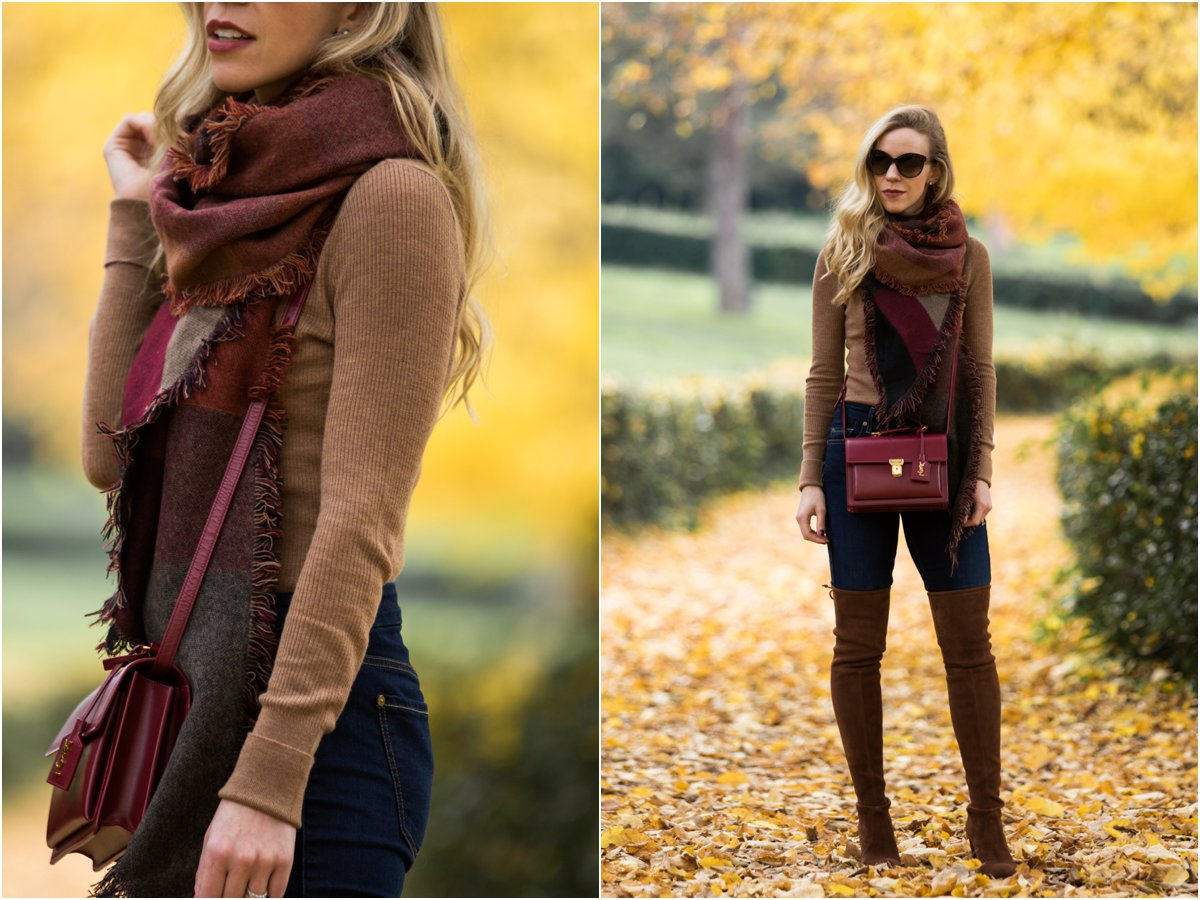 hm-camel-turtleneck-fitted-turtleneck-with-skinny-jeans-and-over-the-knee-boots-blanket-scarf-fall-outfit