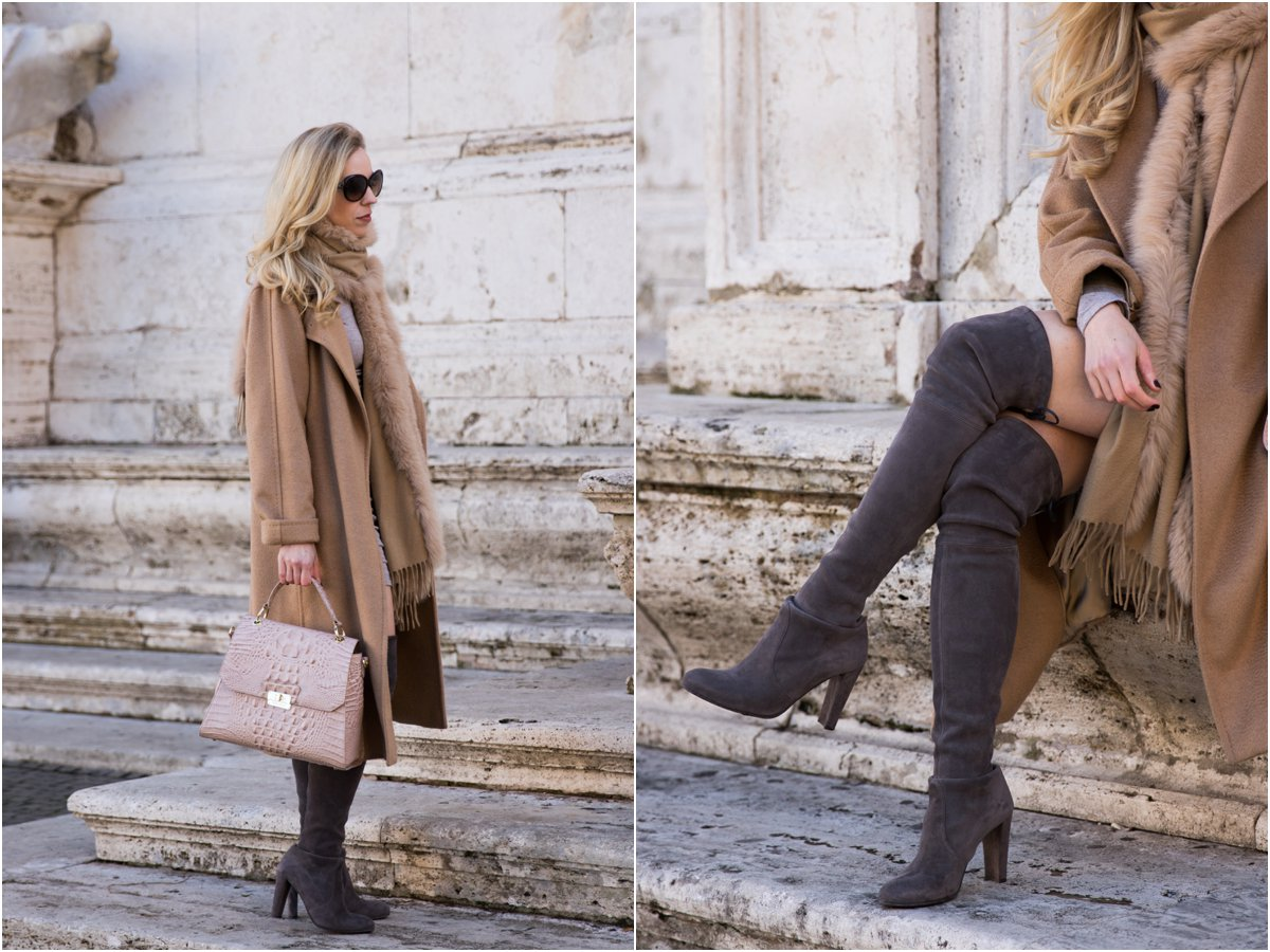 max-mara-camel-coat-stuart-weitzman-gray-suede-over-the-knee-boots-brahmin-brinley-satchel-silk-melbourne