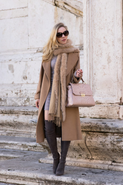 max-mara-camel-coat-with-fur-scarf-camel-coat-with-mini-dress-and-over-the-knee-boots-brahmin-brinley-satchel-silk-melbourne
