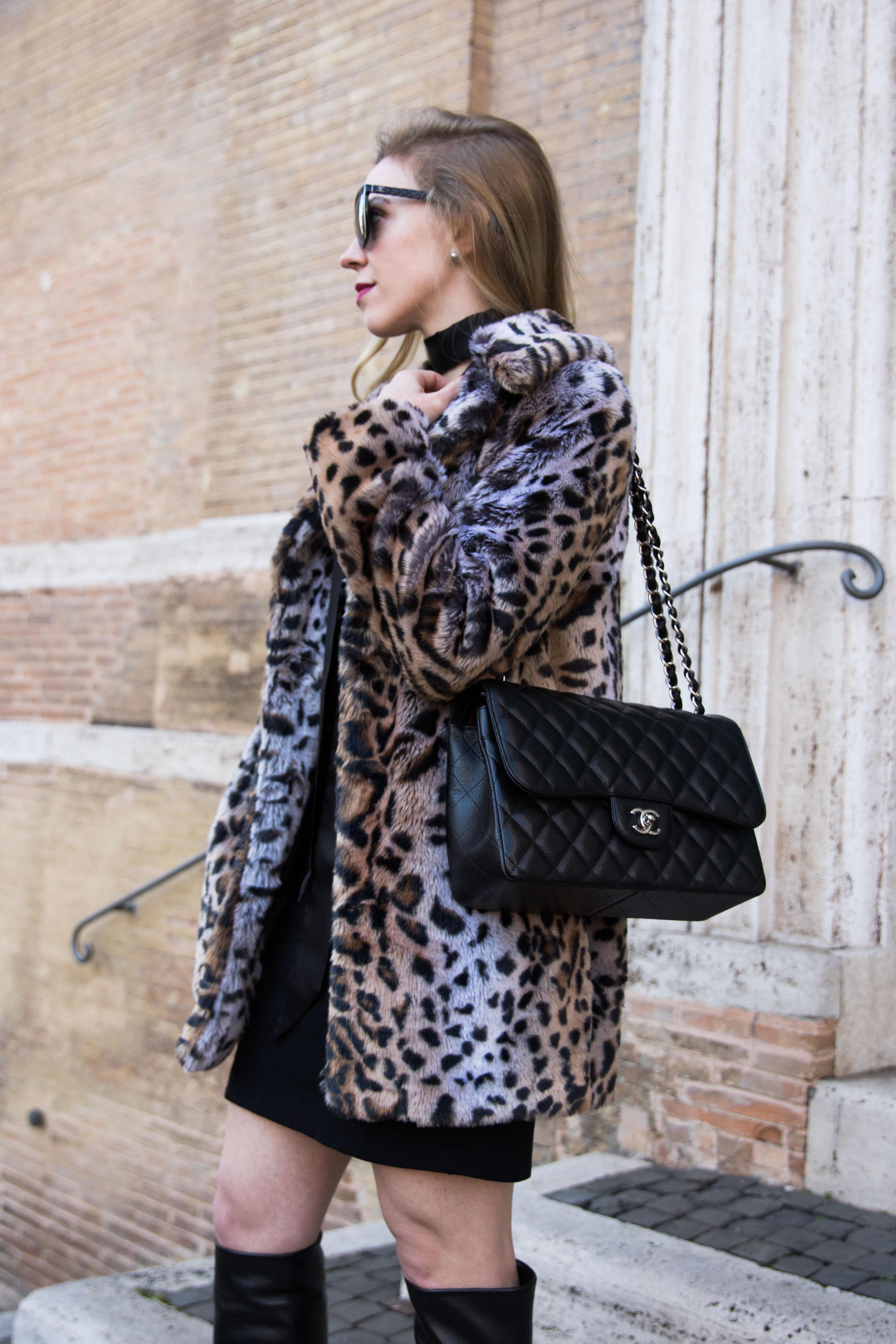 fashion-blogger-meagan-brandon-of-meagans-moda-wearing-faux-fur-leopard-coat-wtih-chanel-jumbo-flap-bag