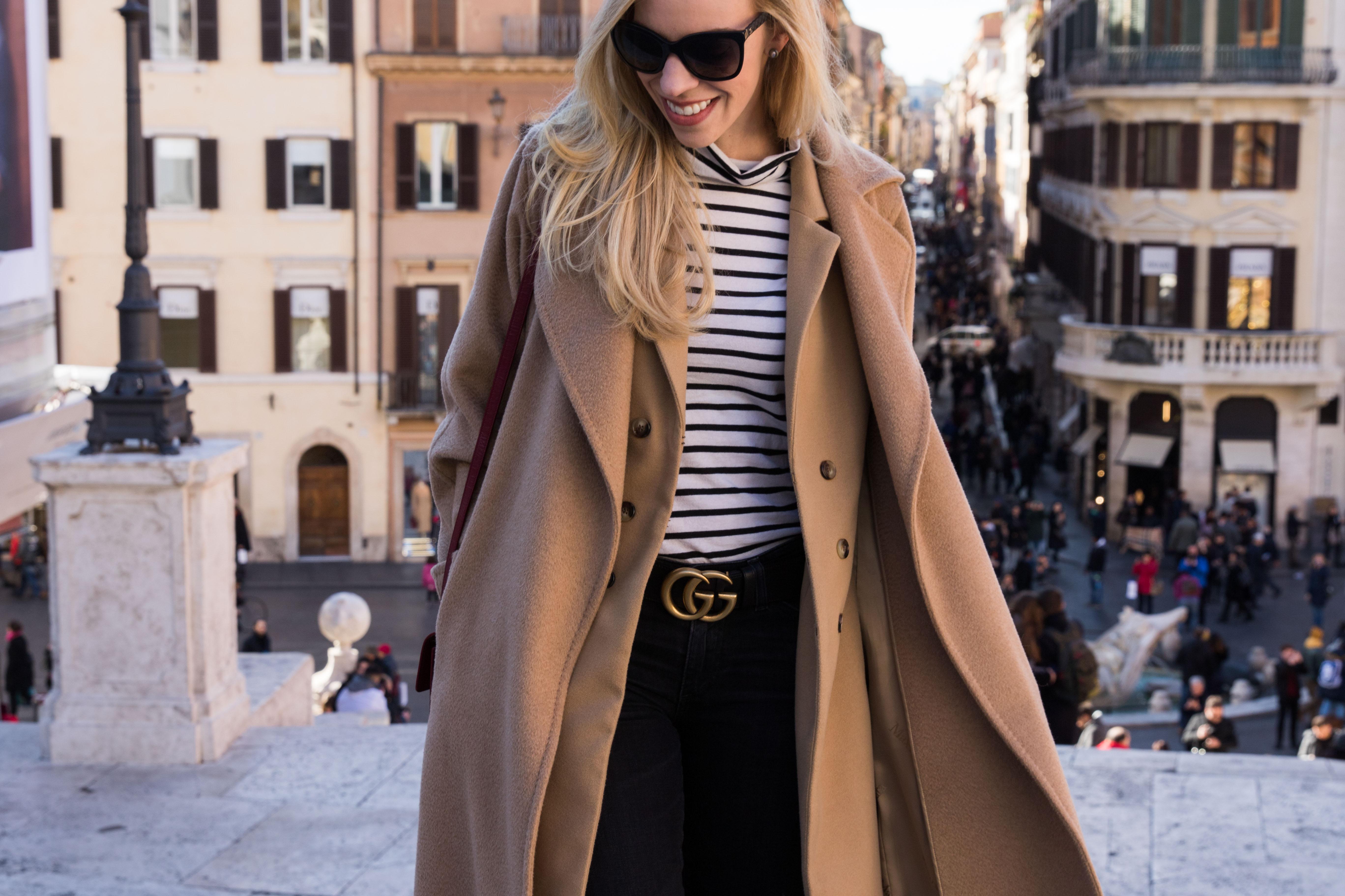 Piazza di spagna fashion blogger Rome Italy, where to designer shop in Rome Italy Via dei Condotti