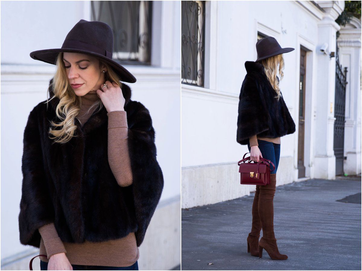 fashion-blogger-meagan-brandon-wearing-vintage-fur-cape-with-panama-hat-and-stuart-weitzman-walnut-suede-over-the-knee-boots