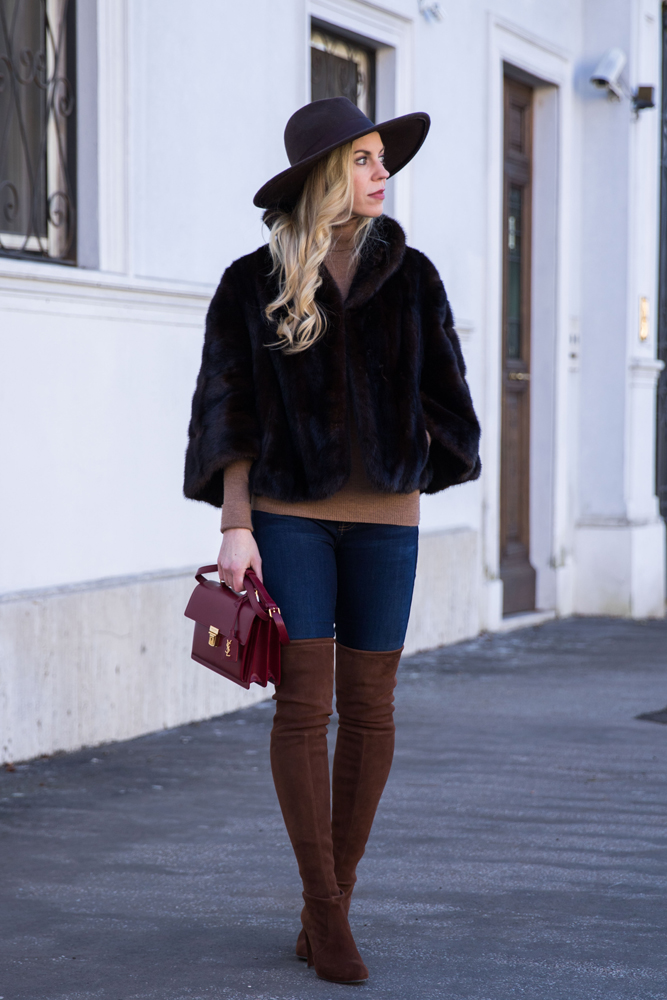how-to-wear-a-vintage-fur-jacket-vintage-fur-cape-with-over-the-knee-boots-meagans-moda-fashion-blogger-rome-italy