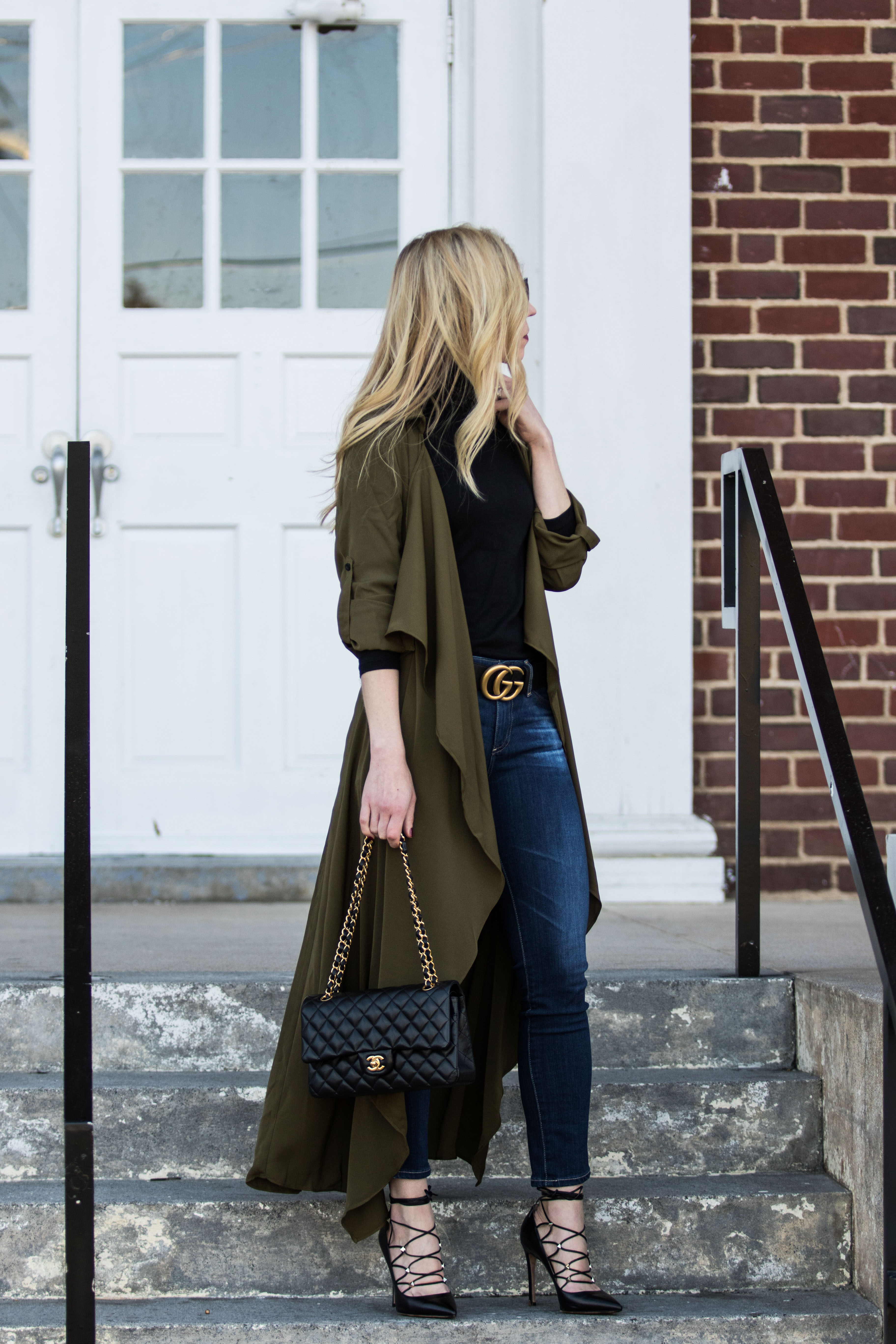 Styling a Utility Duster Jacket