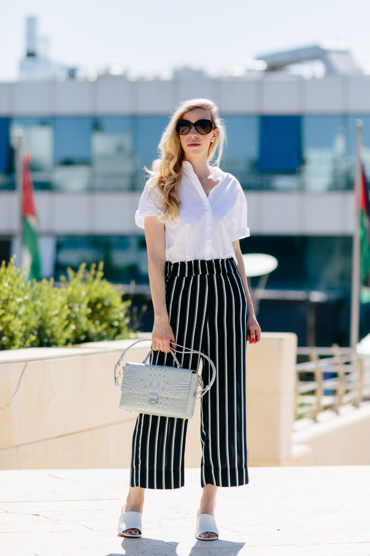 Striped Pants for Summer