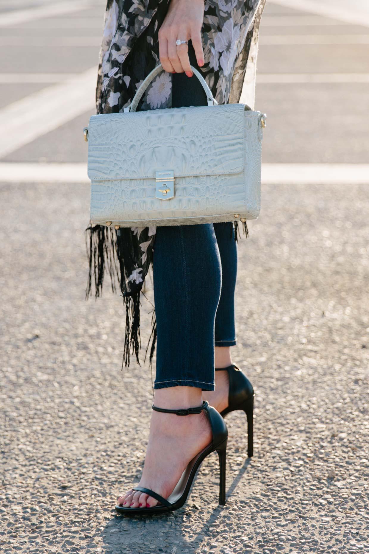 Brahmin Danielle satchel seaglass Melbourne, Stuart Weitzman