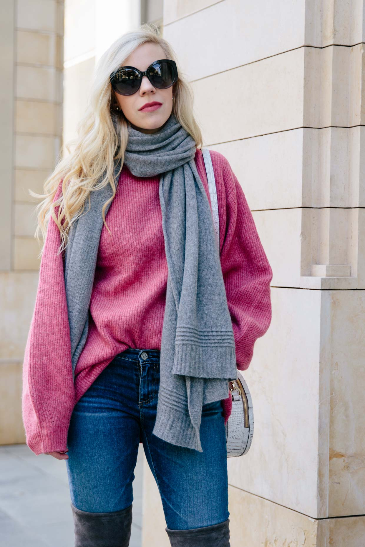 5fc2841fc23 The Perfect Pink Sweater for Valentine s Day - Meagan s Moda