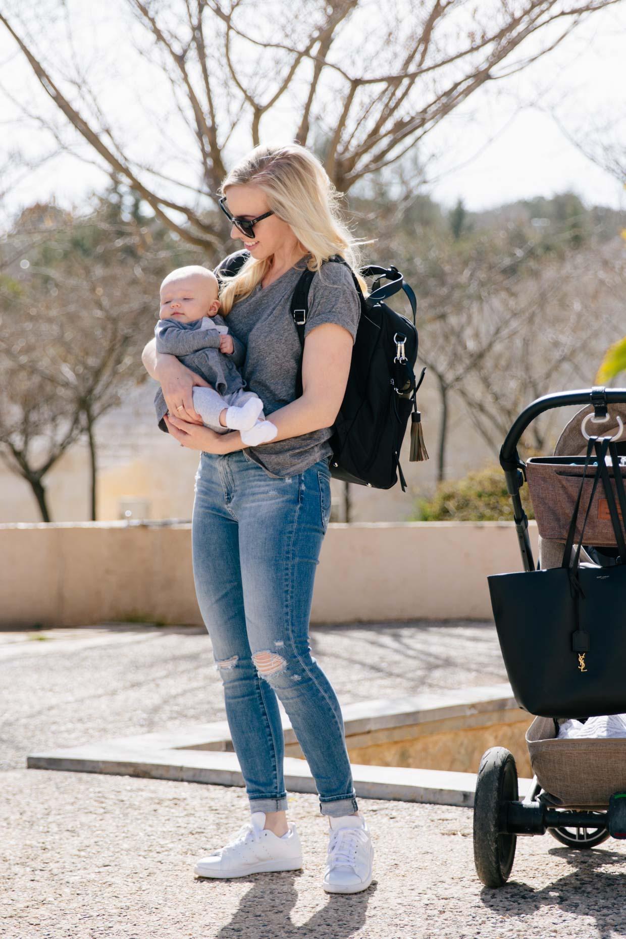 9211dd6d9d4 A Stylish Diaper Backpack & Lila Blake's Three Month Update