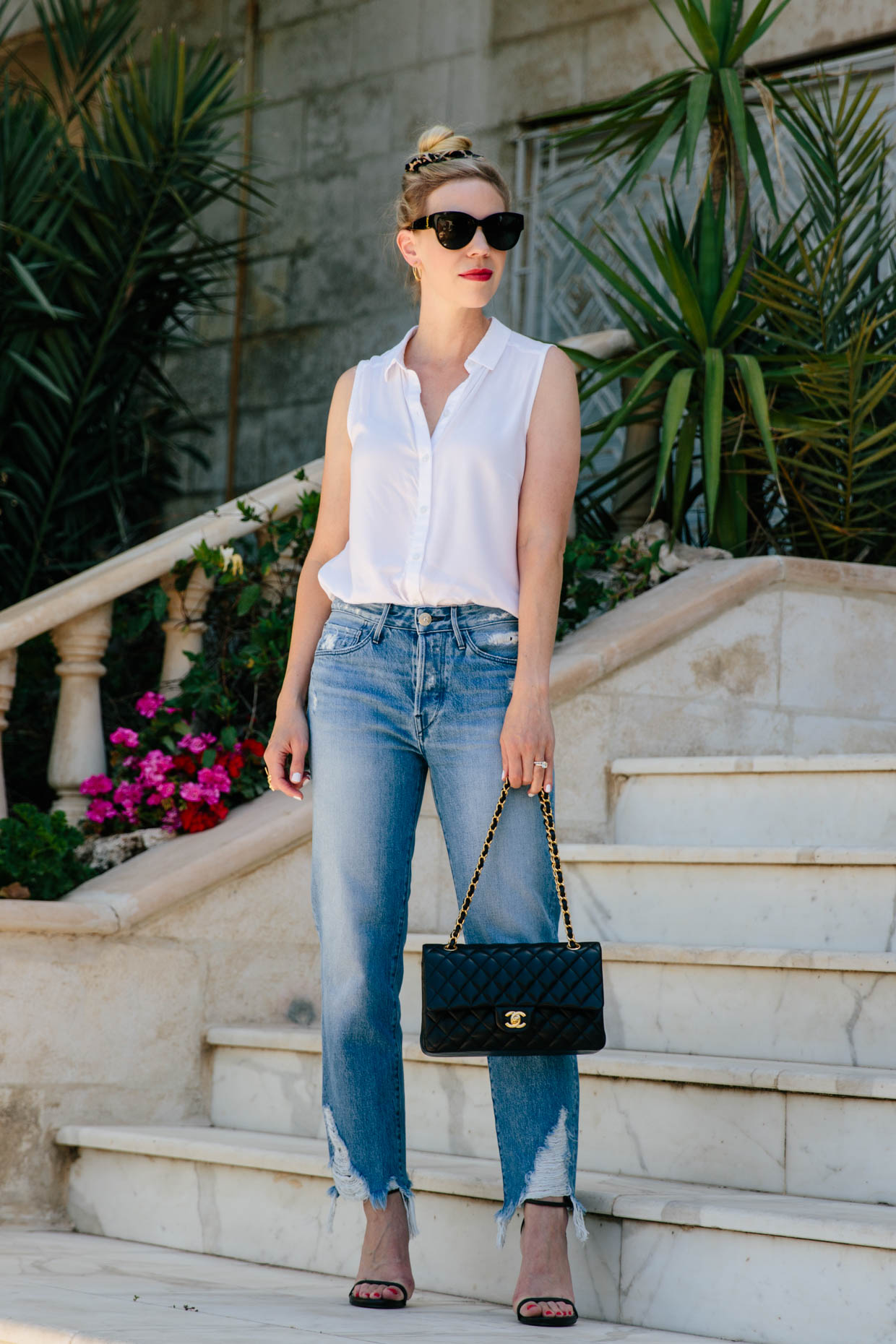 how i use accessories to elevate basic outfits  meagan's moda