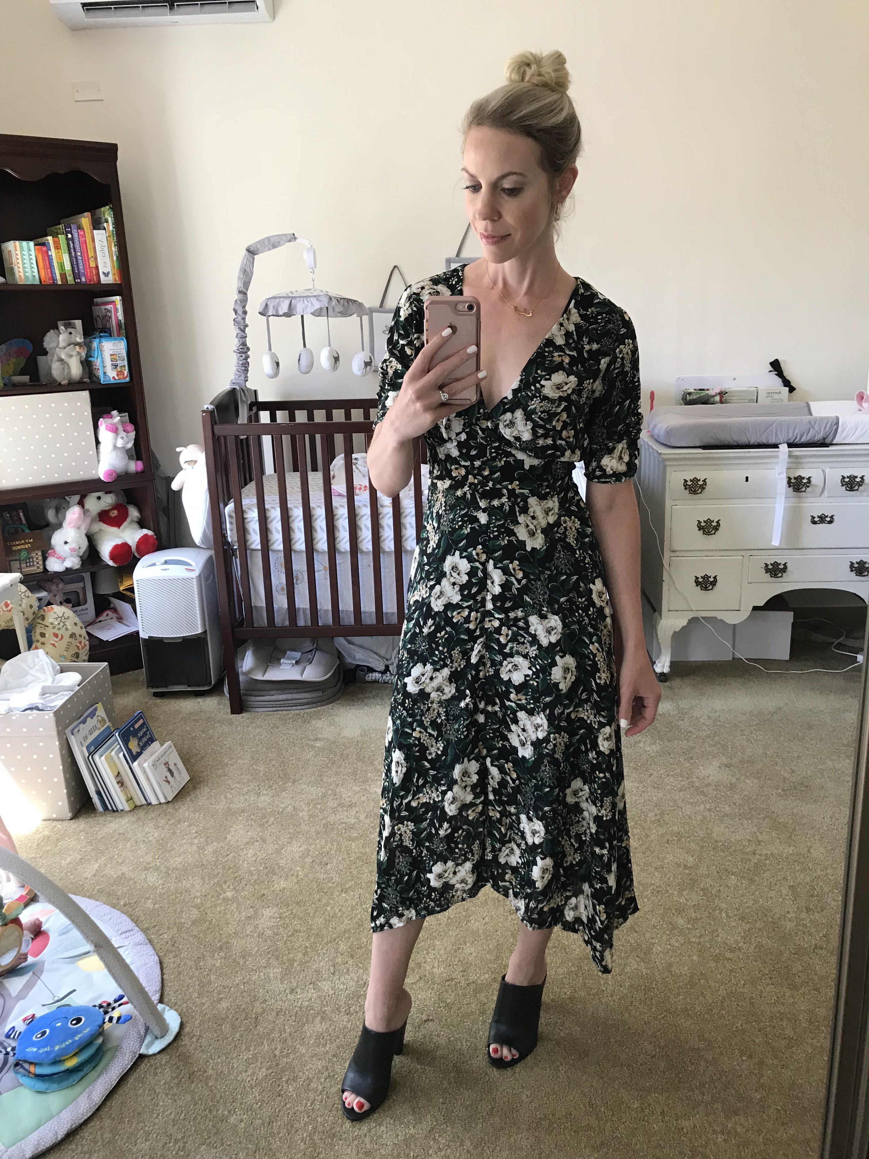 01d724e5e6c2 ASTR floral midi dress, best dresses of 2018 Nordstrom Anniversary Sale