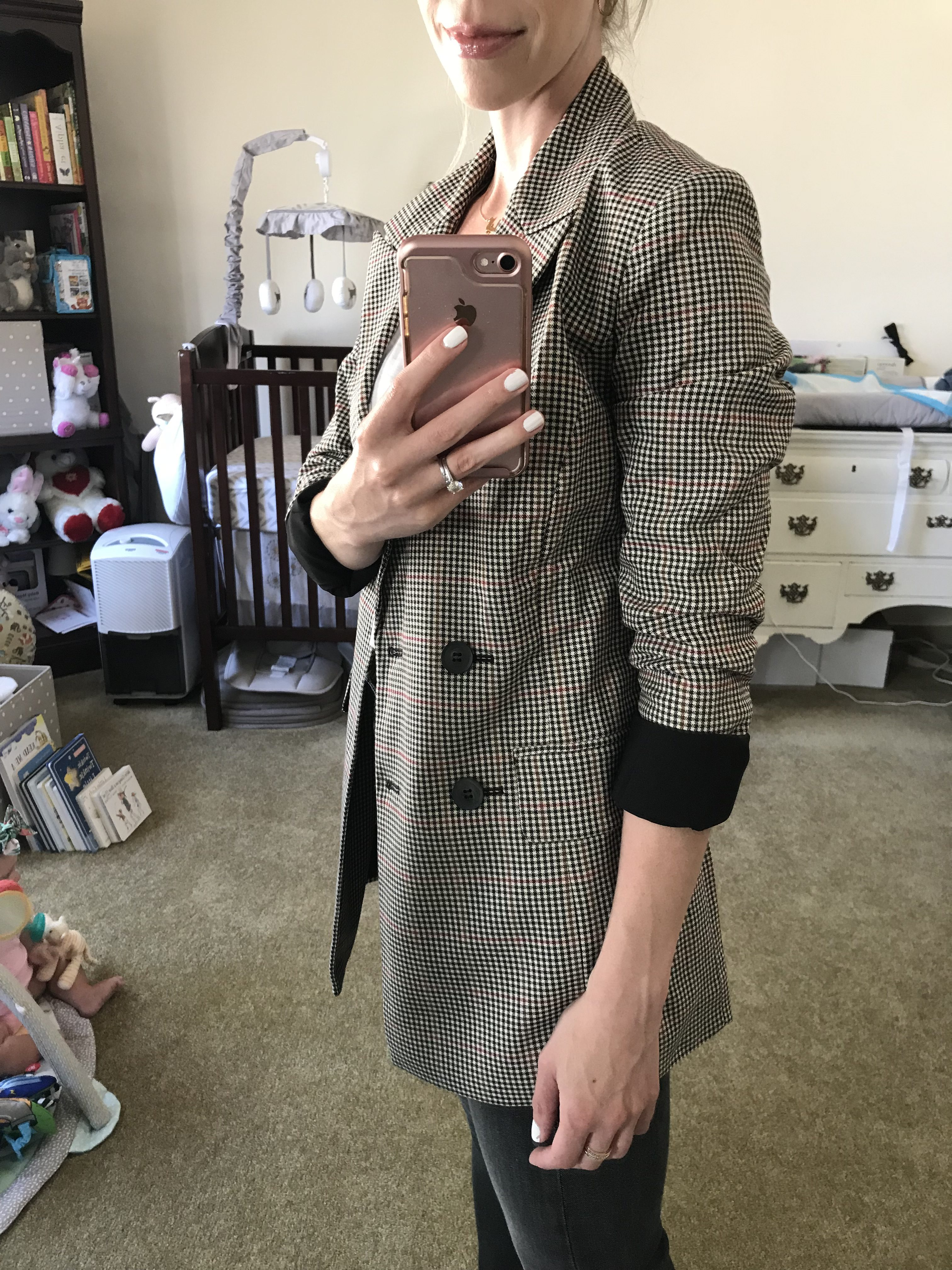 10b10e741593 Trouvé menswear blazer $99.90 (after sale $149.00) **FIT: Oversized;  wearing an XS