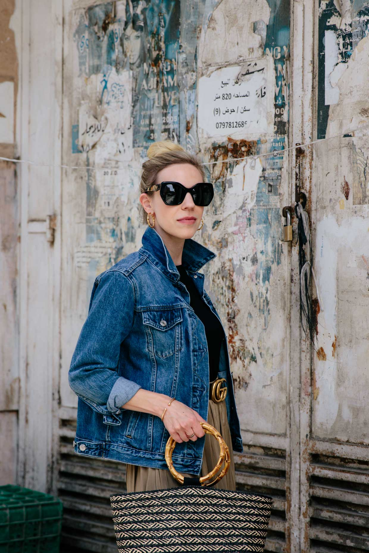 How to Wear a Denim Jacket From Summer to Fall - Meagan's Moda