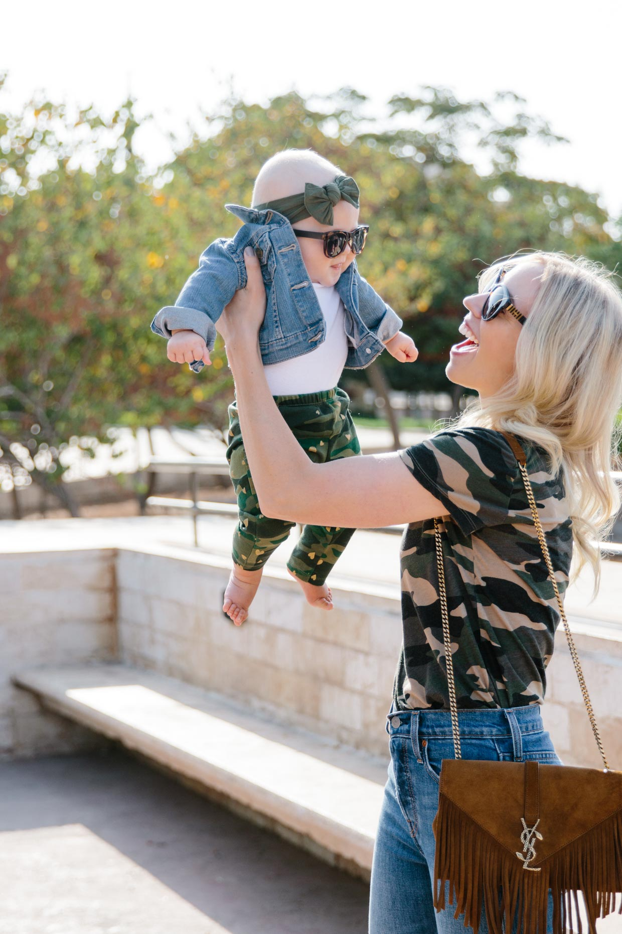Baby Girl Outfit Idea With Camo Print Mommy Daughter Camo Print