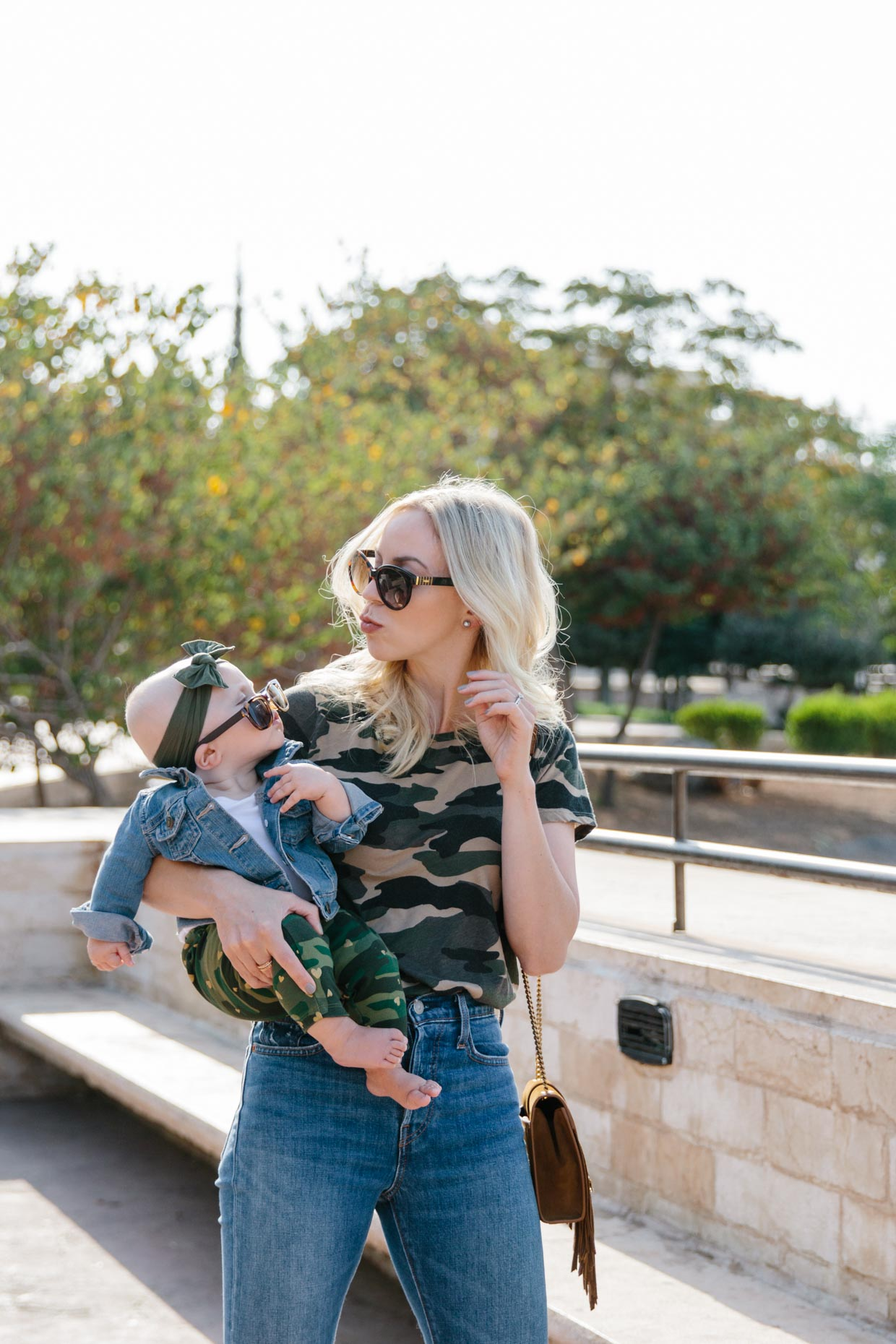 4f31d8c2c152d 9 Months With Lila Blake & Our Coordinating Camo Print Outfits ...