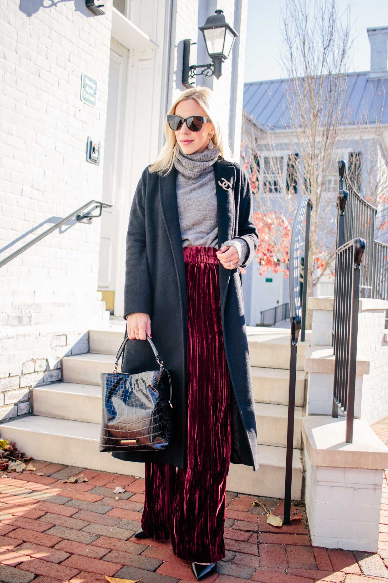 Velvet Pants For The Holidays Comfy Chic Meagan S Moda
