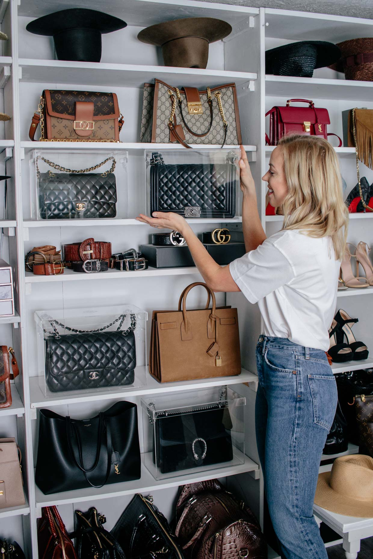 The Best Way To Store And Display Designer Handbags Meagan S Moda